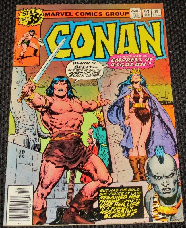 Conan the Barbarian #93 (1978)