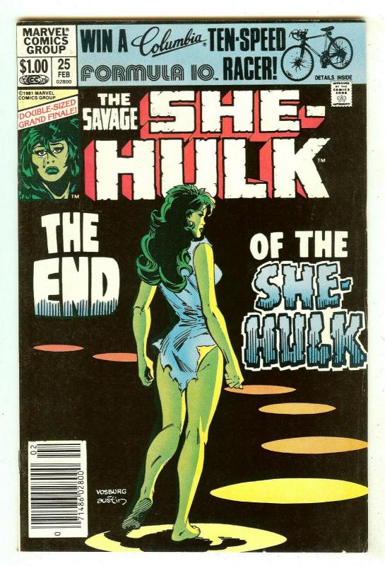 Savage She-Hulk 25   Last Issue   52 Pages