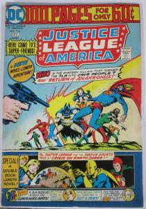 JUSTICE LEAGUE OF AMERICA #114 (DC) December, 1974 VERY GOOD 100 page giant