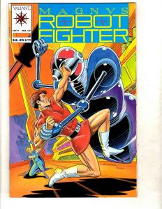 Magnus Robot Fighter # 17 NM Valiant Comic Book Rai Bloodshot Unity MR6