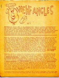 Newfangles #44 1971-Don & Maggie Thompson comic book fanzine-VG