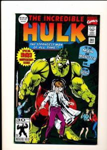 Marvel Comics Incredible HULK 30th Anniversary Issue #393 VF/NM (SIC523)