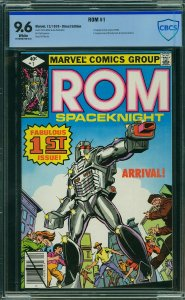 ROM #1 (Marvel, 1979) CBCS 9.6 - 1st Appearance and Origin