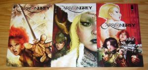 Carbon Grey #1-3 VF/NM complete series - image comics - A variant set lot 2