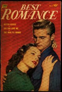 Best Romance #6 1952- Photo cover- Golden Age VG