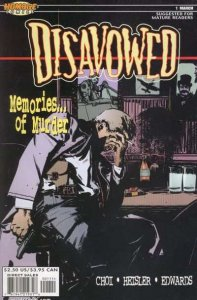 Disavowed #1, NM (Stock photo)