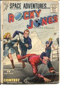 Space Adventures #16 1955-Charlton-Rocky Jones Space Ranger-Krigstein-G-
