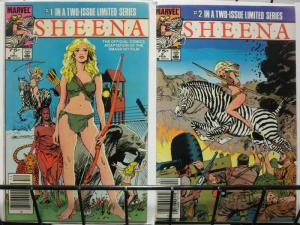 SHEENA QUEEN OF THE JUNGLE 1-2  MOVIE ADAPT COMPLETE