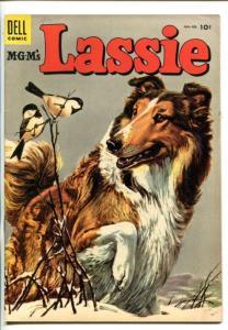 LASSIE #20-1955- MATT BAKER ART-vg