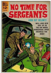 NO TIME FOR SERGEANTS 2 G-VG  May-July 1965 COMICS BOOK