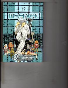 Death Note Vol. # 9 Shonen Jump Advanced Viz Media Manga Comic Book Anime AB1