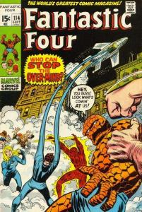 Fantastic Four (1961 series) #114, VF- (Stock photo)