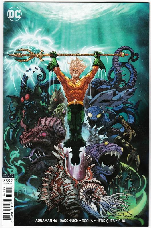 Aquaman #46 Variant Cvr (DC, 2019) NM