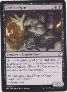 Magic the Gathering: Adventures in the Forgotten Realms - Zombie Ogre