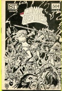 The Comic Reader Fanzine #122 Street Enterprises 1975 Thorne Red Sonja Cover
