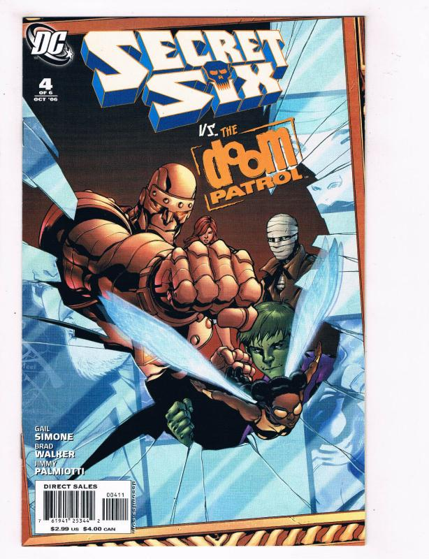 Secret Six Vs The Doom Patrol 4 Nm Dc Comics Comic Book 2006 De28