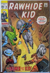 The Rawhide Kid #78 (1970) F+