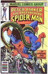Spider-Man, Peter Parker Spectacular #33 (Aug-80) VF/NM- High-Grade Spider-Man