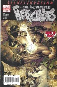 Incredible Hercules #117 (7-08) w/ the God Squad, Athena v. Skrull Empire