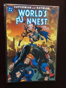 Superman and Batman World's Funnest GN (2000 DC) Elseworlds #1 - VF - 2000