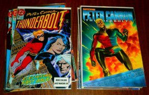 Peter Cannon  : Thunderbolt (DC) #1-8,11; (Dynamite) #1-4,6-10 (set of 18)