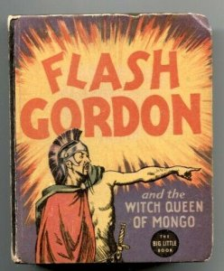 Flash Gordon And The Witch Queen Of Mongo #1190-Big Little Book