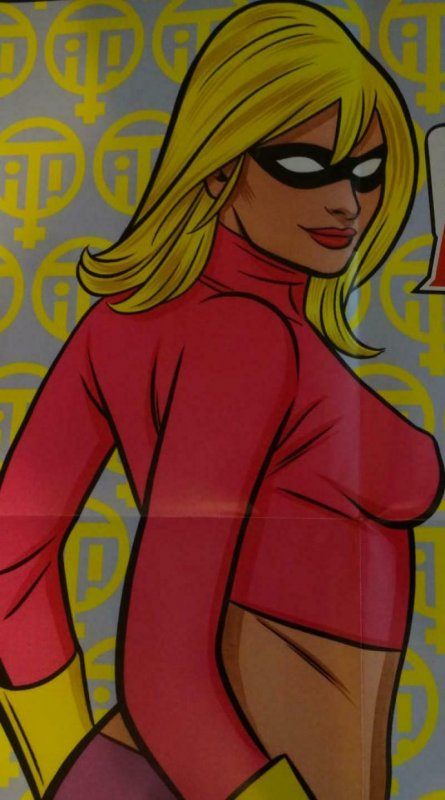 IT GIRL AND THE ATOMICS Promo Poster, 18 x 24, 2012 IMAGE Mike Allred Unused 412
