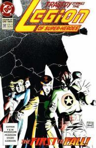 Legion of Super-Heroes (1989 series) #32, NM- (Stock photo)