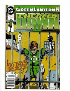 12 DC Comics Emerald Dawn II 1 2 3 4 5 6 Justice League Annual 1 2 3 4 5 6 HG3