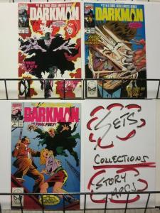 DARKMAN (1990) 1-3 Sam Raimi's 1st Hero THE SET!