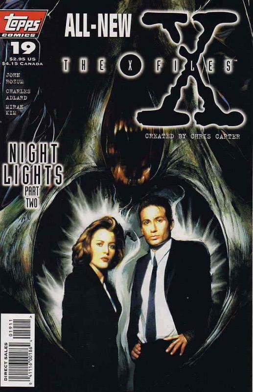 X-Files, The #19 VF/NM; Topps | save on shipping - details inside