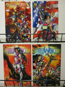 ATOMIK ANGELS 1-4  William Tucci's complete series