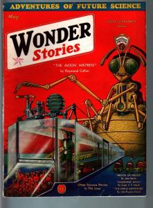 WONDER STORIES 5/1932-SCI-FI PULP-WORSHIP THE ANT GOD! VF