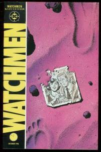 WATCHMEN #4 1986-DAVID GIBBONS-ALAN MOORE-DC COMICS VF