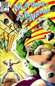 Marvel Fanfare (1982 series) #7, NM- (Stock photo)
