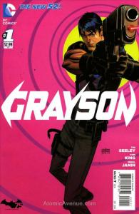 Grayson #1 FN; DC | save on shipping - details inside