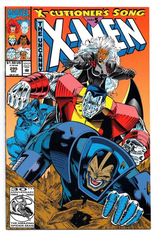 The Uncanny X-Men #295 (Dec 1992, Marvel) - Very Fine/Near Mint