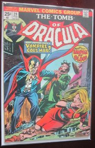 The Tomb of Dracula #29 5.0 VG/FN (1975)