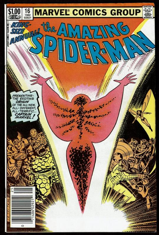 Amazing Spider-Man Annual #16 (1st series)  7.0 FN/VF  1st App. Monica Rambea...