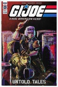 GI Joe A Real American Hero #277 Cvr A Shearer (IDW, 2020) NM
