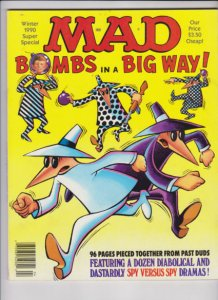 MAD BOMBS IN A BIG WAY WINTER 1987 SUPER SPECIAL E.C. PUBLICATION, VF- CONDITION