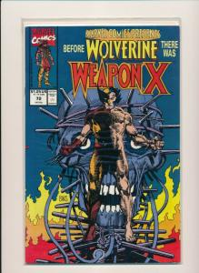 Marvel Before WOLVERINE there was WEAPON X #72 1991 VERY FINE+ (PF590)