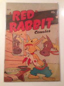 Red Rabbit Comics 6 3.5 VG-
