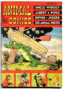 ANIMAL COMICS #25 1947-POGO-DELL-WALT KELLY ART-WIGGLY FR