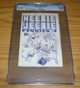 Heebie Jeebie Funnies #2 CGC 9.0 william stout - scott shaw - underground comix