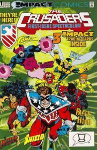 Crusaders (1992 series) #1, NM (Stock photo)