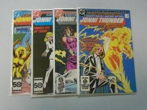 Jonni Thunder set:#1-4 8.0 VF (1985)