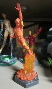 THE HUMAN TORCH by Bowen designs STATUE! #674/4000 NO BOX! Fantastic Four