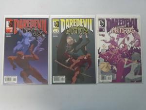 Daredevil Ninja Set #1-3 8.5/VF+ (2000)