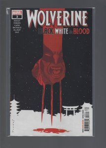 Wolverine: Black, White, and Blood #3